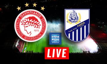 LIVE: Ολυμπιακός - Λαμία (19:30)