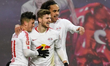 Διατηρήθηκε στην πρώτη τετράδα της Bundesliga η Λειψία