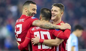 Τα highlights του αγώνα Ολυμπιακός - Λαμία 3-0 (vid)