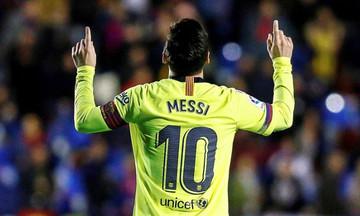 Χωρίς αντίπαλο ο Μέσι σε La Liga και Ευρώπη