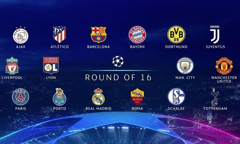 Live: Η κλήρωση του UEFA Champions League