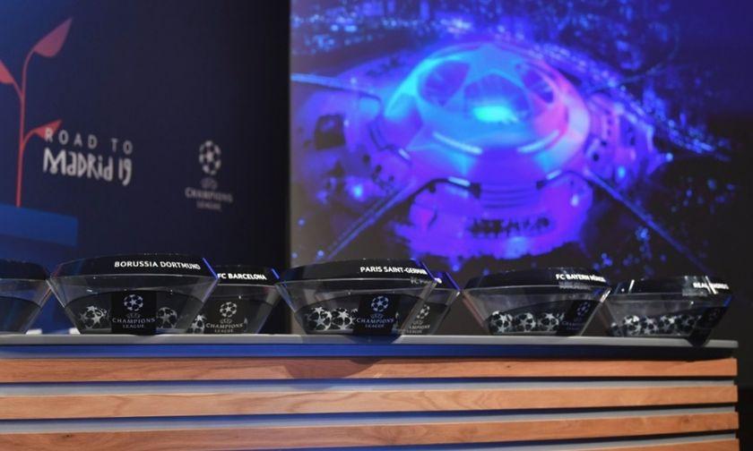 Τα «8» ζευγάρια του Champions League