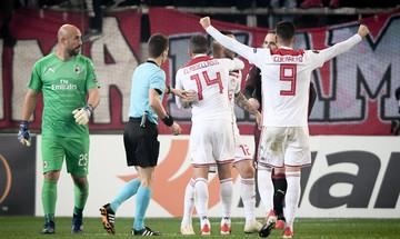 Ο Ολυμπιακός έχει σκοράρει περισσότερα γκολ στο Europa League απ' ό,τι στη Super League