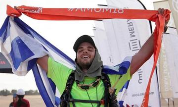 Ο υπεραθλητής Γιαννάκου έτρεξε 270 χιλιόμετρα στην έρημο! (pics)