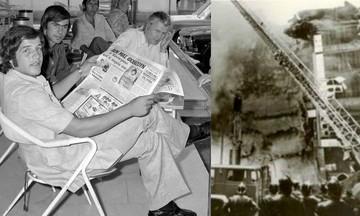 Γκλέζος, Μπάγεβιτς τσακώνονται στο Καραϊσκάκη - Καίγονται «Μινιόν» και «Κατράντζος»