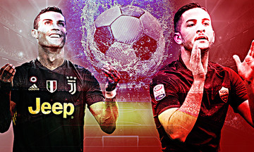 Γιουβέντους - Ρόμα: Ρονάλντο vs  Μανωλάς
