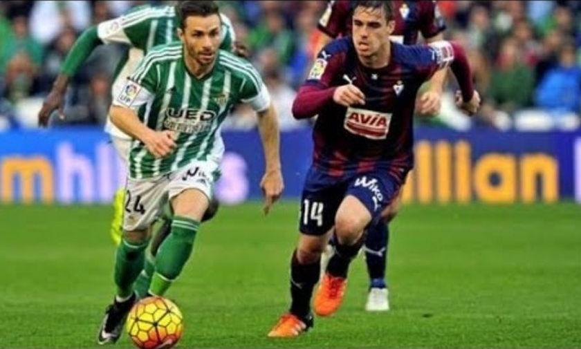La Liga: Έχασε έδαφος η Μπέτις, 1-1 με την Έιμπαρ