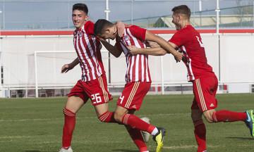 Super League Κ19: «Σβηστή» νίκη για τον Ολυμπιακό, 2-0 την ΑΕΛ