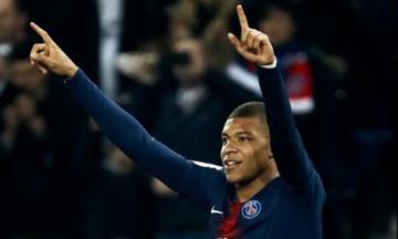 Ligue 1: Ο Εμπαπέ «ξελάσπωσε» την Παρί (αποτελέσματα, βαθμολογία)