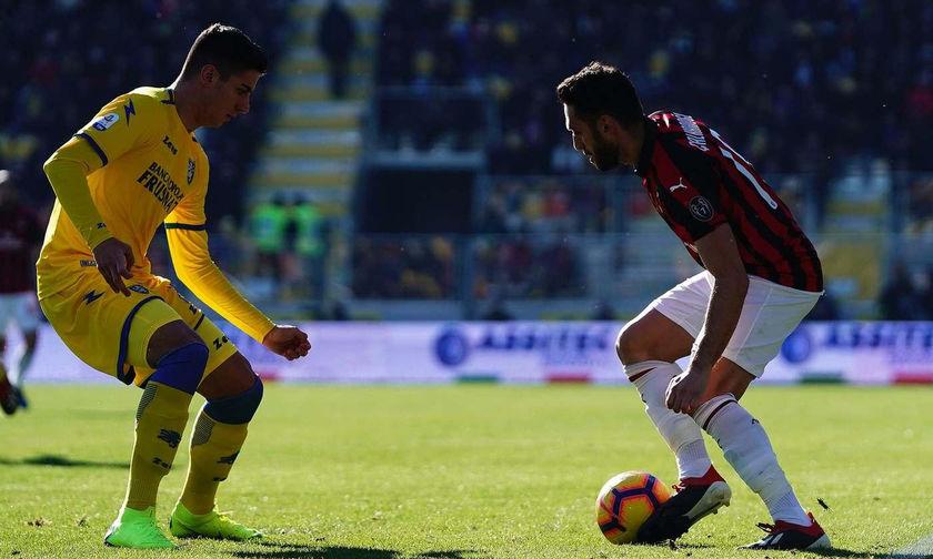 Φροζινόνε-Μίλαν 0-0: Νέα απώλεια για τους «ροσονέρι»