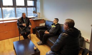 Ο Γιάννης Ιωαννίδης βρέθηκε στα γραφεία της ΚΑΕ Άρης (pics)