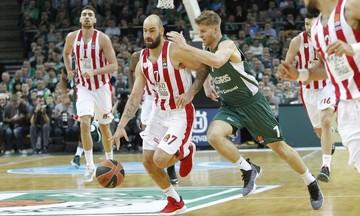 Στα ριμπάουντ δεν έχει αντίπαλο ο Ολυμπιακός στην EuroLeague