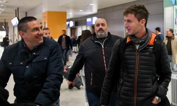 Ολυμπιακός: Στην Αθήνα έφτασε ο Φράνκο Σολδάνο