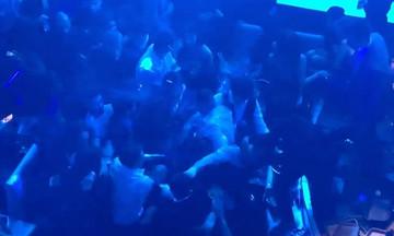 Ξύλο μετά μουσικής σε νυχτερινό κέντρο της Αθήνας (vid)
