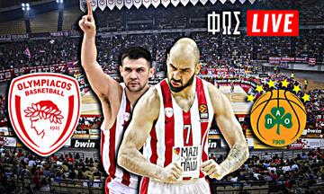 LIVE: Ολυμπιακός - Παναθηναϊκός (21:00)