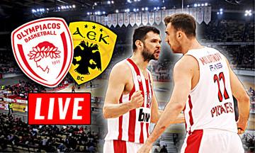LIVE: Ολυμπιακός - ΑΕΚ (19:30)
