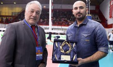 Χαριτωνίδης, ο βολεϊμπολίστας που νίκησε τον καρκίνο!