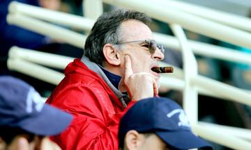 Ο Πανόπουλος στην προπόνηση της Ξάνθης ενόψει Ολυμπιακού