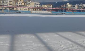 Το χιόνι καθυστέρησε τη «σέντρα» στο ΠΑΣ Γιάννινα- Πανιώνιος (vid)