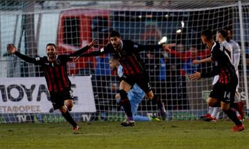 Παναχαΐκή-ΠΑΟΚ 2-1: Τα γκολ της πρώτης ήττας του ΠΑΟΚ (vid)