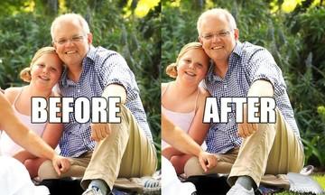 Αυστραλία: «Πάρτι» με τα φθαρμένα παπούτσια του πρωθυπουργού και τα δυο αριστερά πόδια