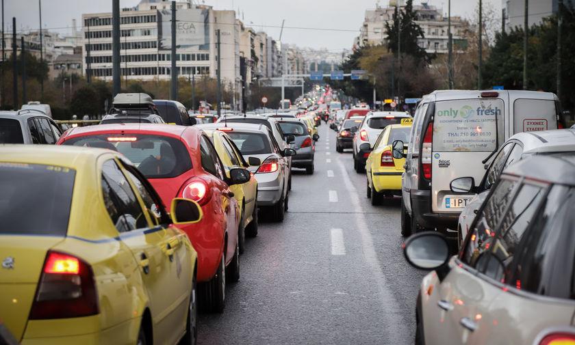 Κυκλοφοριακές ρυθμίσεις σε Αθήνα ενόψει της επίσκεψης της Μέρκελ