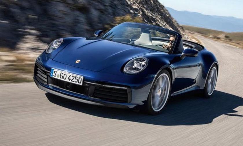 Αποκαλύφθηκε η νέα Porsche 911 Cabriolet!