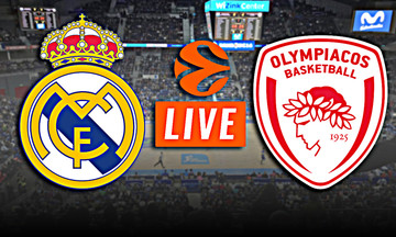 LIVE: Ρεάλ Μαδρίτης - Ολυμπιακός (22:00)