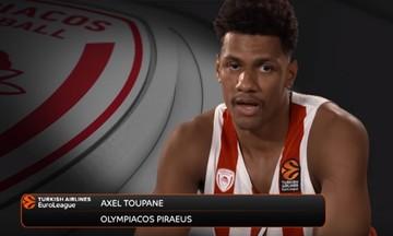 Τουπαν: «Μεγάλο βήμα στην καριέρα μου ο Ολυμπιακός» (video)