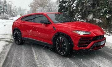 Η Lamborghini Urus δεν αντέχει το κρύο