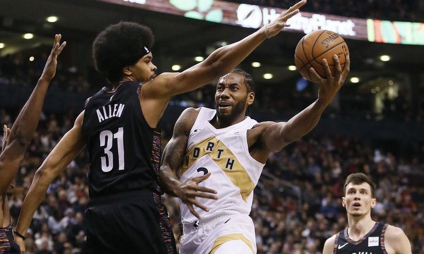 NBA: Στην κορυφή της Ανατολής το Τορόντο, ήττα χωρίς Γιάννη για τους Μπακς