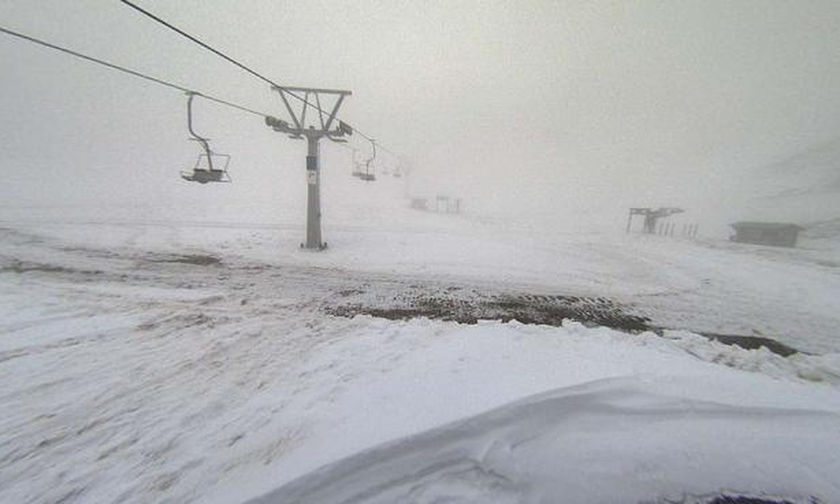 Συναγερμός στα Καλάβρυτα: Χιονοστιβάδα στο χιονοδρομικό