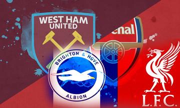 Premier League: Τα πάντα για το λονδρέζικο ντέρμπι και το Μπράιτον-Λίβερπουλ