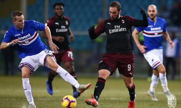 Σαμπντόρια - Μίλαν 0-2: Ο Κουτρόνε χτύπησε δύο φορές στην παράταση