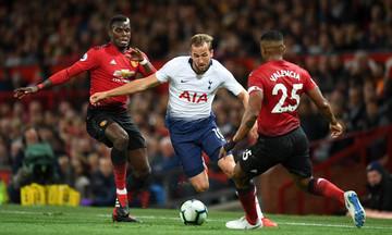 Premier League: Το ντέρμπι της αγωνιστικής ανάμεσα σε Τότεναμ και Μαντσεστερ Γιουνάιτεντ