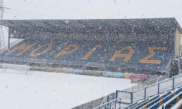 Οριστικό: Αναβλήθηκε λόγω χιονιού το Αστέρας - ΠΑΟΚ των Κ-19