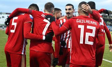 Γκολ ο Γκερέρο και ο Ολυμπιακός μπροστά με 2-0 του Λεβαδειακού (vid)