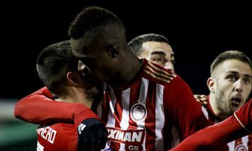 Τα highlights του Λεβαδειακός - Ολυμπιακός 0-2 (vid)