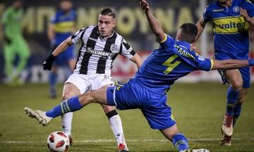 Αστέρας Τρίπολης - ΠΑΟΚ 0-3: Είχε τύχη και Πασχαλάκη (vid)
