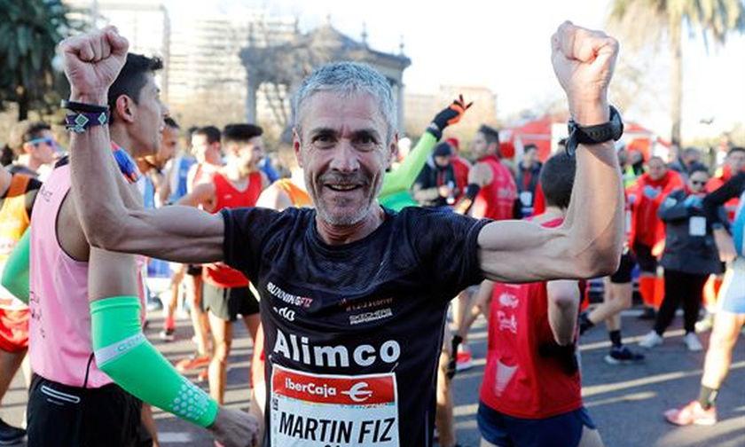 Μάρτιν Φιζ: Ο πιο γρήγορος 55χρονος στα 10 χιλιόμετρα
