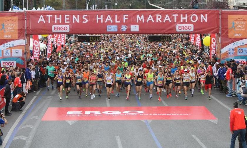 Αρχίζουν οι εγγραφές για τον 8ο Ημιμαραθώνιο της Αθήνας
