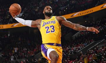 NBA: Χωρίς τον ΛεΜπρόν οι Λέικερς για δύο ακόμα ματς