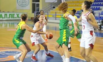 Ολυμπιακός - Σοπρόν 63-52: Πρώτη και ιστορική νίκη για τις «ερυθρόλευκες» (vid)