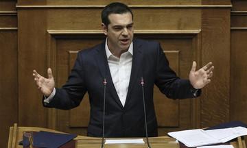 Τσίπρας: «Το κοινοβούλιο έδωσε ψήφο εμπιστοσύνης στη σταθερότητα»