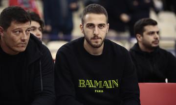 Πάντα κοντά στην ομάδα μπάσκετ του Ολυμπιακού ο Φορτούνης