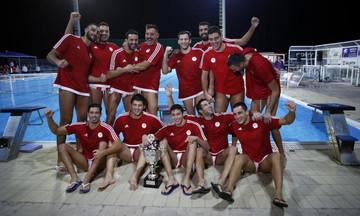 ΑΦΙΕΡΩΜΑ - Κύπελλο Πόλο: Ο Ολυμπιακός για το 20ο στο Καρπενήσι!