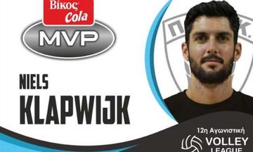 Ο Κλαπβάικ MVP της 12ης αγωνιστικής