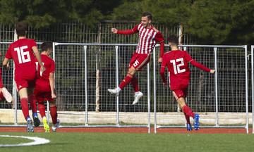 Κ15: Νίκη του Ολυμπιακού επί της ΑΕΚ με 2-0