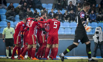 Το γκολ του Χριστοδουλόπουλου για το ΠΑΣ Γιάννινα-Ολυμπιακός 1-2 (vid)