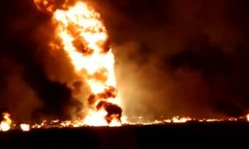 Μεξικό: Η στιγμή της έκρηξης στον αγωγό (vid)